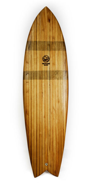 carillon wooden surfboard