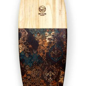 avocado sartorial wooden surfboard