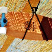 wooden longboard
