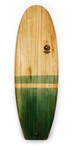 guayaba wooden surfboard