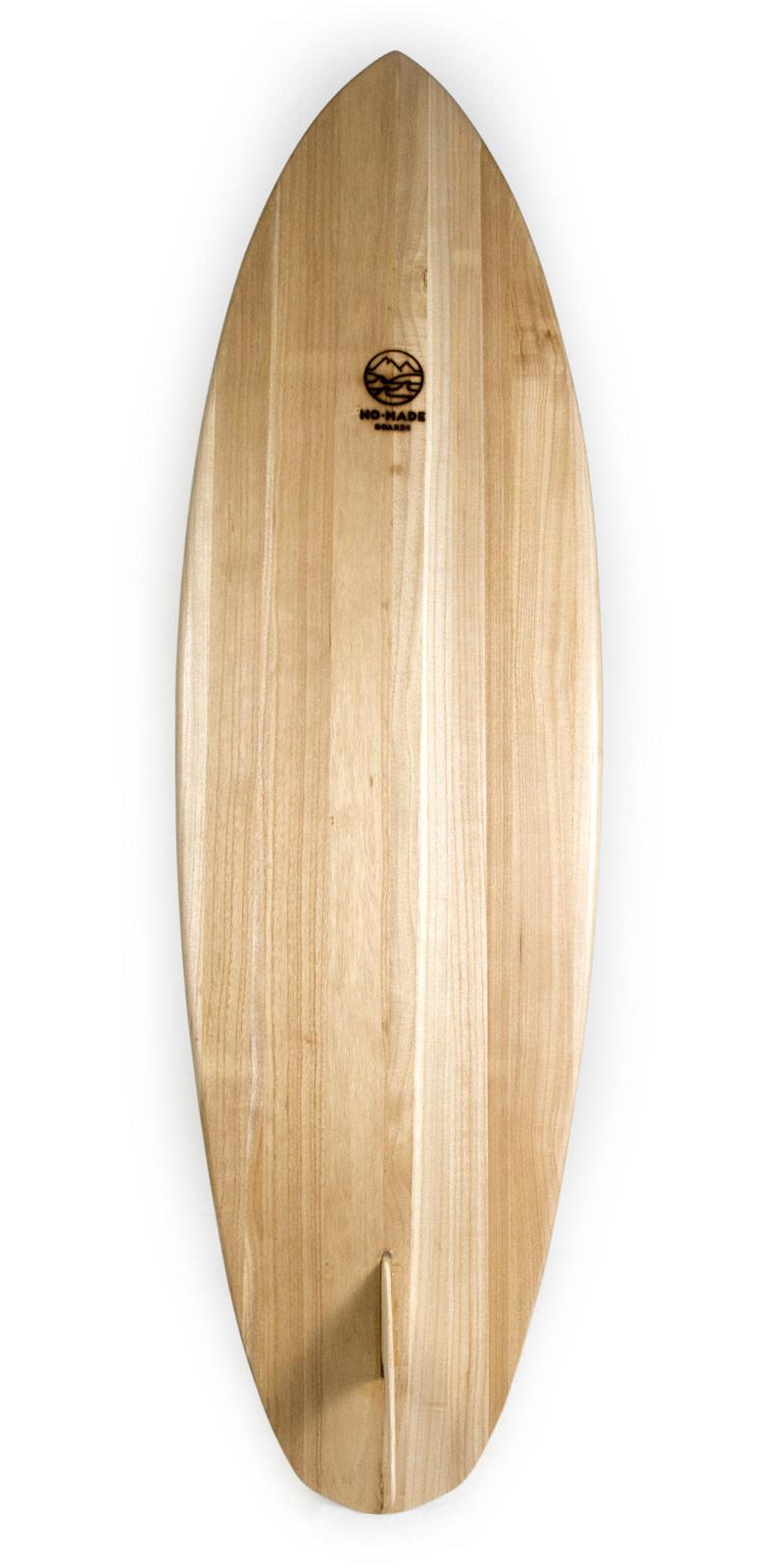 kharma wooden surfboard