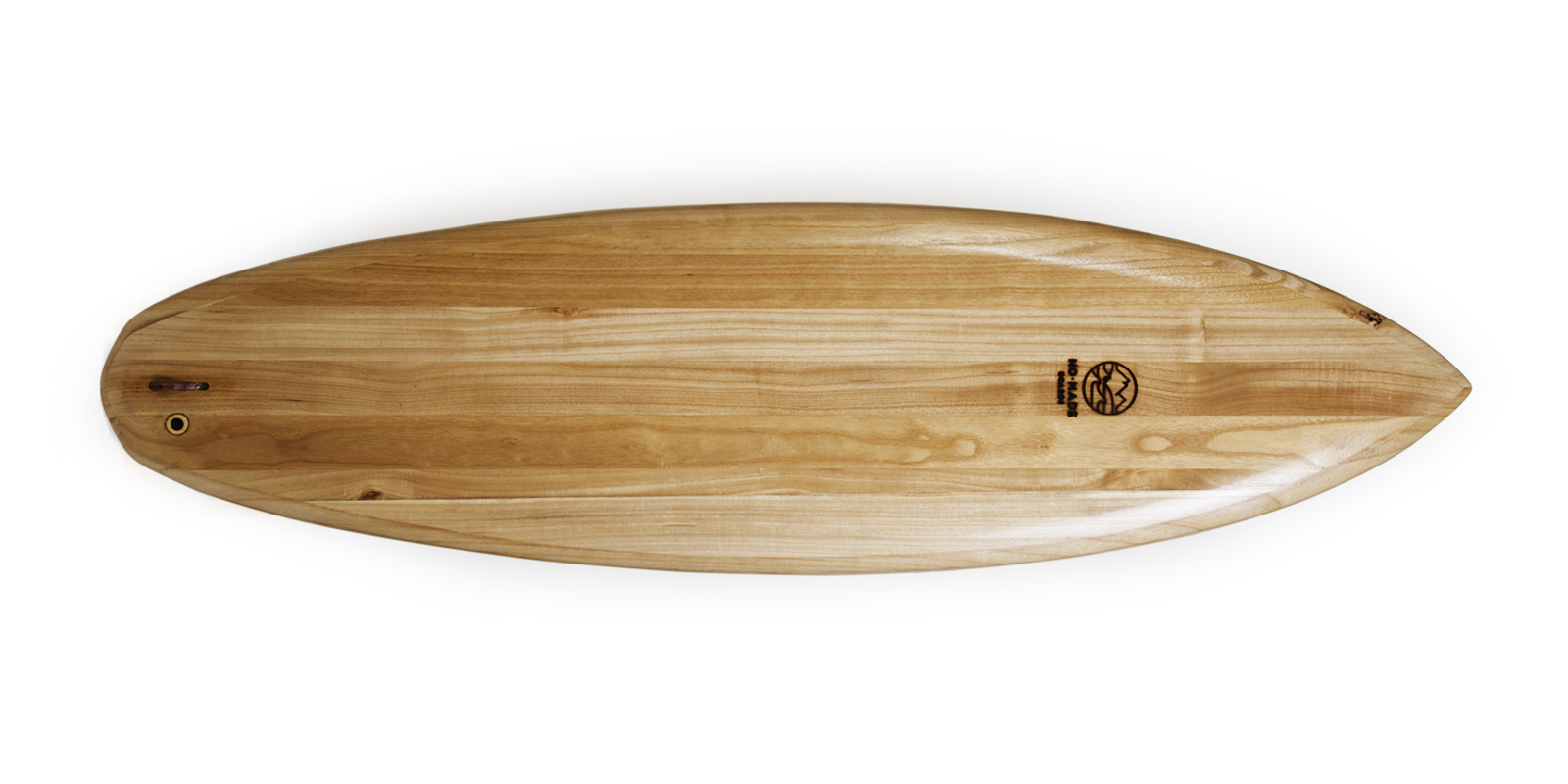 wooden surboard