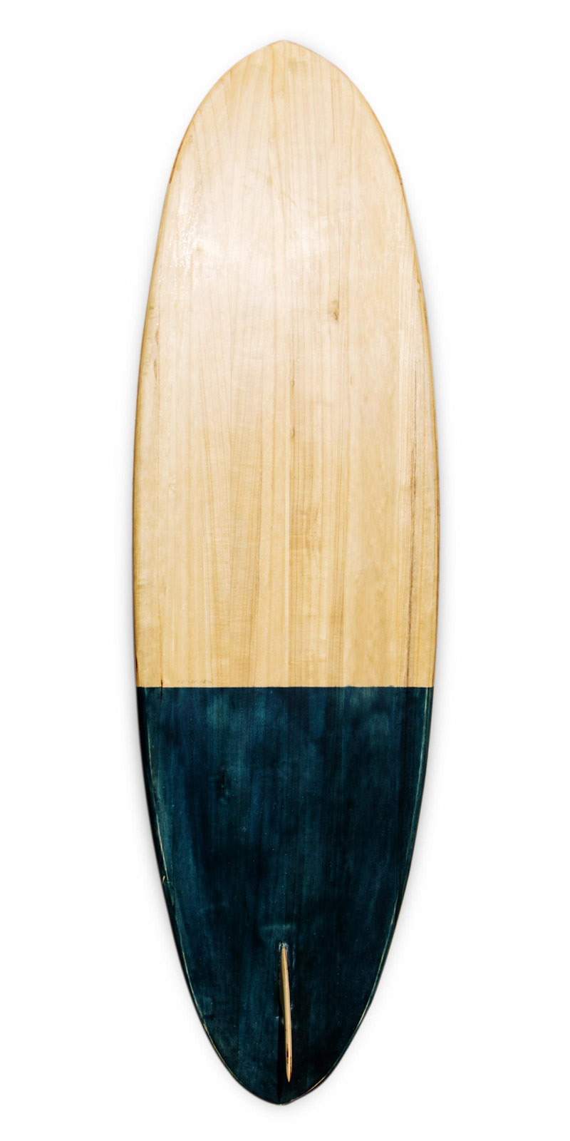 macaco wooden surfboard