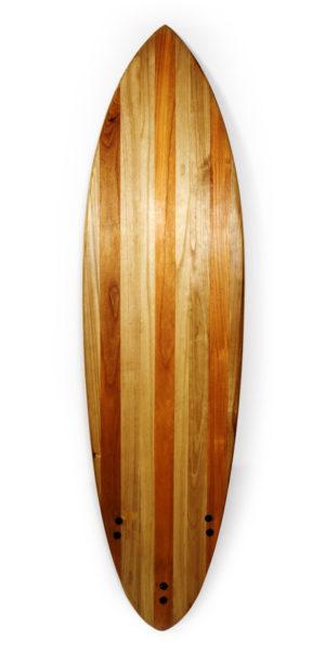 nostromo wooden surfboard