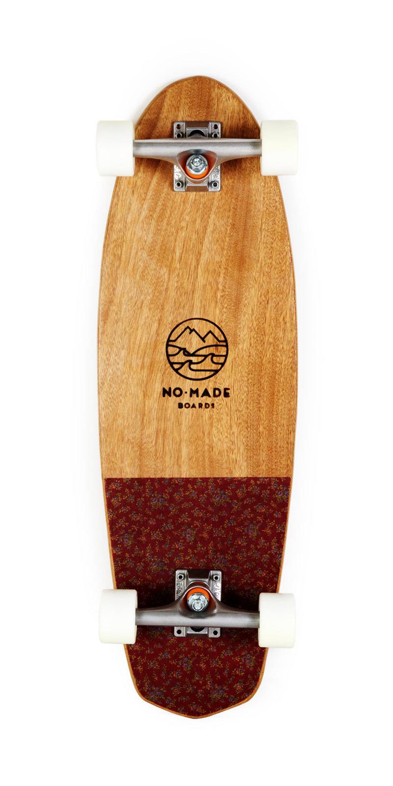 okume vintage skateboard