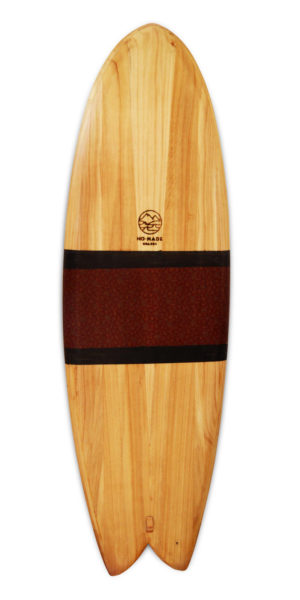 papalina wooden surfboard