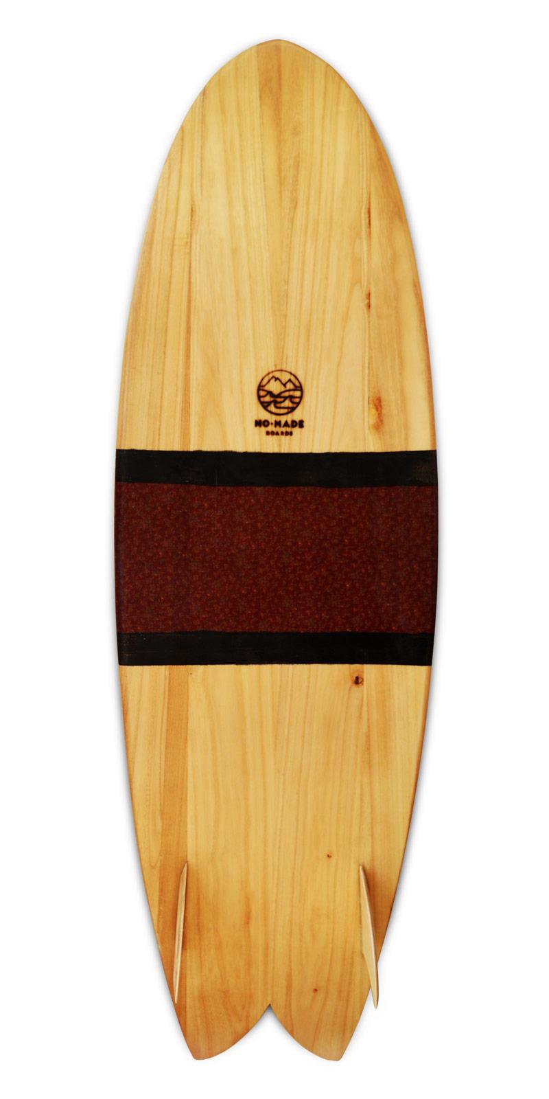 papalina wooden surfboard