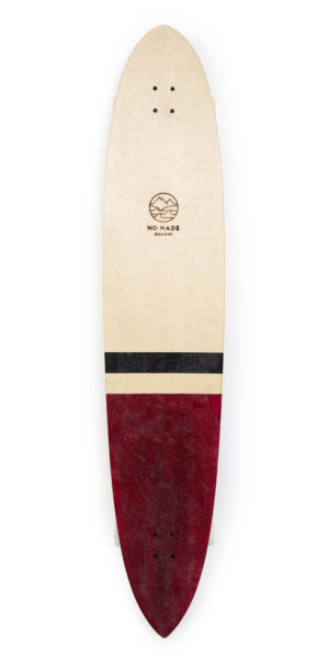 pin log longboard